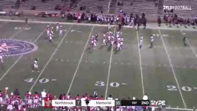Replay: Northbrook vs Houston Memorial   Oct 8 @ 7 PM