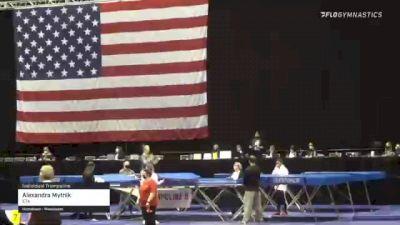 Alexandra Mytnik - Individual Trampoline, ETA - 2021 USA Gymnastics Championships