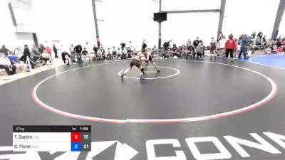 57 kg Semifinal - Tristan Corbin, JK Squad vs Cooper Flynn, Team Shutt