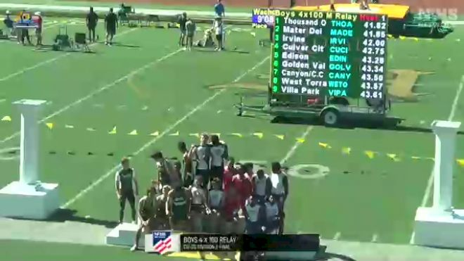 Full Replay: CIF - Southern Division 3: T&F - Finals - CIF - Southern Division 2: T&F - Finals - Jun 12