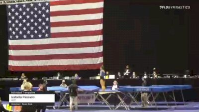Isabella Pansano - Individual Trampoline, WCC - 2021 USA Gymnastics Championships