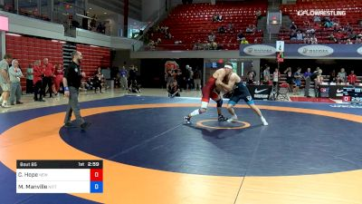 77 lbs Semifinal - Corey Hope, New York Athletic Club vs Mason Manville, Nittany Lion Wrestling Club