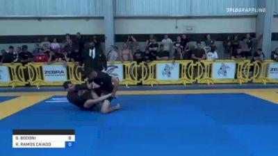 GIANCARLO BODONI vs ROMULO RAMOS CAIADO 2021 Pan IBJJF Jiu-Jitsu No-Gi Championship