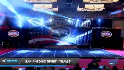 San Antonio Spirit - Team Smoke [2021 L6 Int.Open Coed Sm D2 Day 3] 2021 ACP Southern National Championship