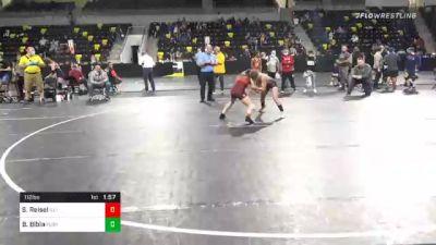 112 lbs Semifinal - Shea Reisel, Illinois vs Brielle Bibla, Florida