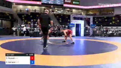 57 kg Prelims - Codi Russell, Blue Ridge RTC vs Dominick Serrano, Nebraska Wrestling Training Center