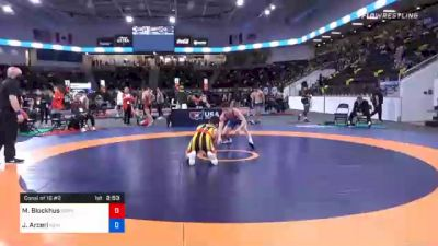 70 kg Consolation - Michael Blockhus, Gopher Wrestling Club - RTC vs John Arceri, New York