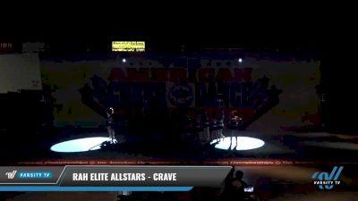 Rah Elite Allstars - Crave [2021 L2 Junior - D2 - Medium Day 2] 2021 The American Celebration DI & DII