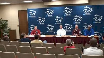 Coaches Press Conference 2010 NCAA Indoor Champs - Coaching two contenders