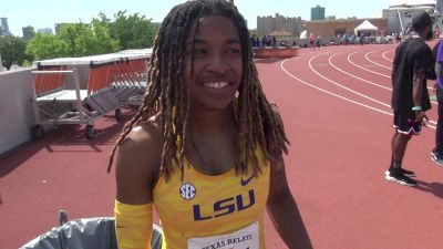 LSU's Aleia Hobbs Was Eyeing The NCAA Record At Texas Relays