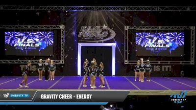 Gravity Cheer - Energy [2021 L3 Senior Coed Day 2] 2021 The U.S. Finals: Ocean City