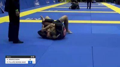 ADAM WARDZINSKI vs PEDRO FILLIPE SERRA MARINHO 2021 World IBJJF Jiu-Jitsu No-Gi Championship