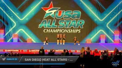 San Diego Heat All Stars - Tiny Tiaras [2019 - Tiny Novice 1 Day 1] 2019 USA All Star Championships