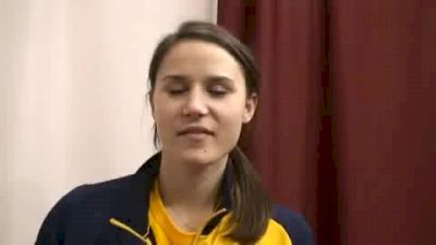 Chelsea Carrier 4th Pentathlon and 6th hurdles 2010 NCAA Indoor Championships