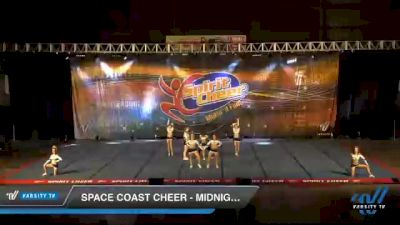 Space Coast Cheer - Midnight [2021 L4.2 Senior Coed Day 1] 2021 South Florida DI & DII Nationals