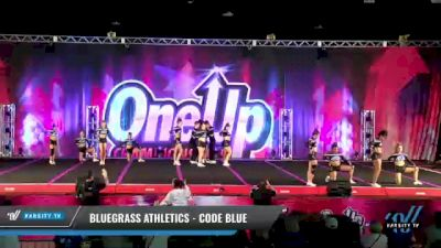 Bluegrass Athletics - Code Blue [2021 L6 Senior Coed - XSmall Day 2] 2021 One Up National Championship