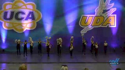 Hendersonville High School - Golden Girls [2020 Varsity - Game Day Day 1] 2020 UCA Smoky Mountain Championship