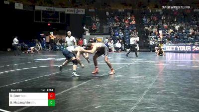 197 lbs Prelims - Dakota Geer, Oklahoma State vs Bryan McLaughlin, Drexel