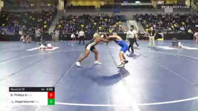 197 lbs Prelims - Don Phillips II, Buena Vista University vs Logan Hagerbaumer, Millikin University