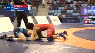 55 kg 1/8 Final - Andranik Avetisyan, Armenia vs Spencer Riley Moore, United States