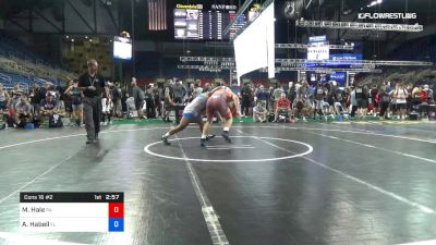 182 lbs Cons 16 #2 - Maximus Hale, Pennsylvania vs Ashton Habeil, Florida