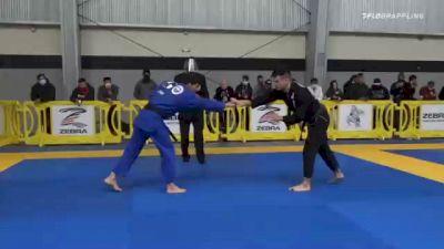 Isaac Doederlein vs Daniel Aquino Santos 2020 American National IBJJF Jiu-Jitsu Championship