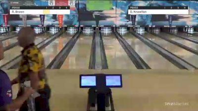 Replay: Lanes 25-26 - 2021 PBA50 Spectrum Lanes Open - Match Play Round 1