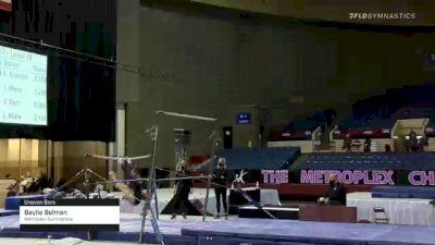 Baylie Belman - Bars, Metroplex Gymnastics - 2021 Metroplex Challenge