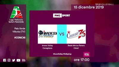 Full Replay - Imoco Volley vs Chieri Turin - Conegliano vs Chieri '76
