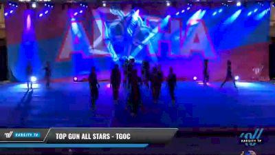 Top Gun All Stars - TGOC [2021 L6 Senior Coed Open - Small Day 2] 2021 Aloha DI & DII Championships