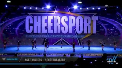ACX Twisters - Heartbreakers [2021 L1 Mini - Small Day 2] 2021 CHEERSPORT National Cheerleading Championship