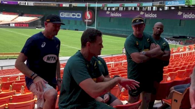 Springboks Coach Rassie Erasmus Speaks