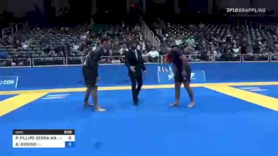 PEDRO FILLIPE SERRA MARINHO vs BRIAN GIORGIO 2021 World IBJJF Jiu-Jitsu No-Gi Championship