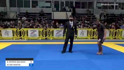 BRYAN PATRICK BALMASEDA vs WENDELL RAY MARTIN 2021 Pan IBJJF Jiu-Jitsu No-Gi Championship