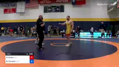 125 kg Quarterfinal - Michael Kosoy, Oregon vs Mauro Correnti, Pennsylvania RTC