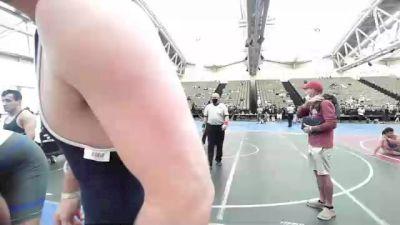 225 lbs Final - Dymere Rappa, American MMAW vs William Baldwin, Cougar Wrestling Club