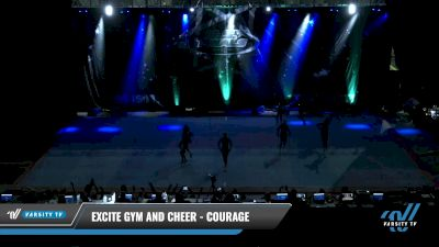 Excite Gym and Cheer - Courage [2021 L1 Youth - Small Day 2] 2021 The U.S. Finals: Pensacola