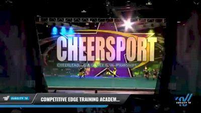 Competitive Edge Training Academy - Stealth [2021 L3 Junior - Non-Building Day 2] 2021 CHEERSPORT National Cheerleading Championship