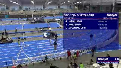 Youth Boys' 200m, Finals 2 - Age 9-10