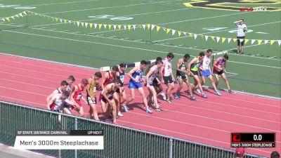 Men's 3k Steeplechase, Heat 1