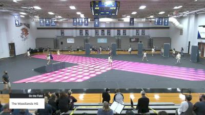The Woodlands HS at 2021 TCGC Color Guard Area Finale - North