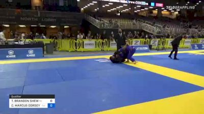 TYLER BRANDON SHEW vs COREY MARCUS DORSEY II 2021 Pan Jiu-Jitsu IBJJF Championship