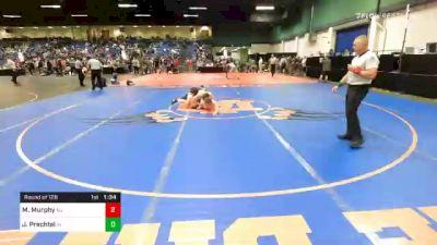160 lbs Prelims - Michael Murphy, NJ vs Jeb Prechtel, IN