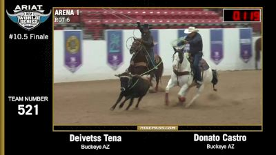 Full Replay - World Series of Team Roping Finale - WSTR (Main Arena)