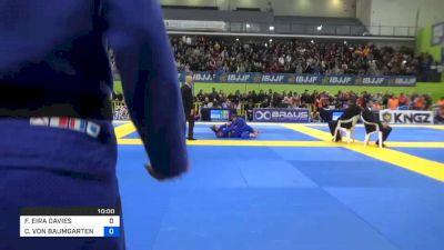 FFION EIRA DAVIES vs CHARLOTTE VON BAUMGARTEN 2020 European Jiu-Jitsu IBJJF Championship