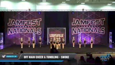 Off Main Cheer & Tumbling - Smoke [2021 L3 Junior - D2 - Small Day 2] 2021 JAMfest: Louisville Championship