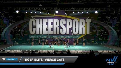 Tiger Elite - Fierce Cats [2020 Youth Medium 1 Day 1] 2020 CHEERSPORT National Cheerleading Championship