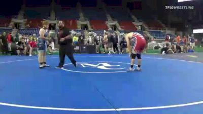 220 lbs Consi Of 16 #2 - Rj Hild, Arkansas vs Hunter Brown, Virginia