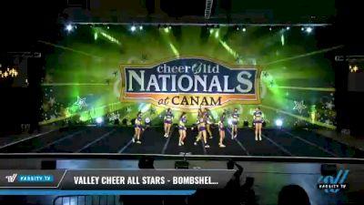 Valley Cheer All Stars - Bombshells [2021 L3 Senior - D2 - Small Day 2] 2021 Cheer Ltd Nationals at CANAM