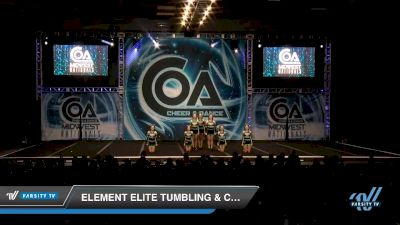 Element Elite Tumbling & Cheer - Lady X [2020 L4 Senior - D2 - Small Day 2] 2020 COA: Midwest National Championship